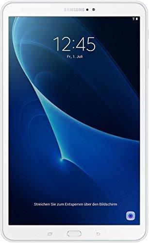 """Samsung Galaxy Tab A Tablet, 10.1"""", modello 2016, WiFi, Bianco"""