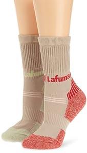 Lafuma LD Pack Hiking Chaussettes de randonnée Femme Wild Rose/Fresh Mint FR : chaussettes : 39-42 (Taille Fabricant : 38/40)
