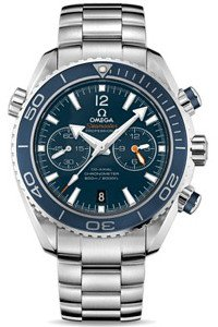 Omega Seamaster Planet Ocean Chronograph 45mm Titanium Liquidmetal Edition Men's Watch