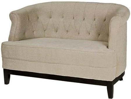 """Travette Tufted Studio Sofa, 32""""Hx50""""W, TXTRD SLD NATRL"""
