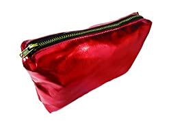 PANACHE Cosmetics Makeup Bag, Glowing Red, Make-Up Cases & Pouches.