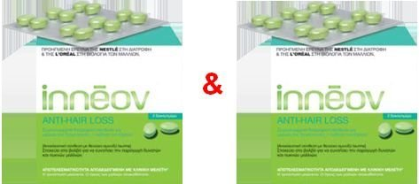 Inneov Mass Capilar Anti Hair Loss Pack 2x60=120