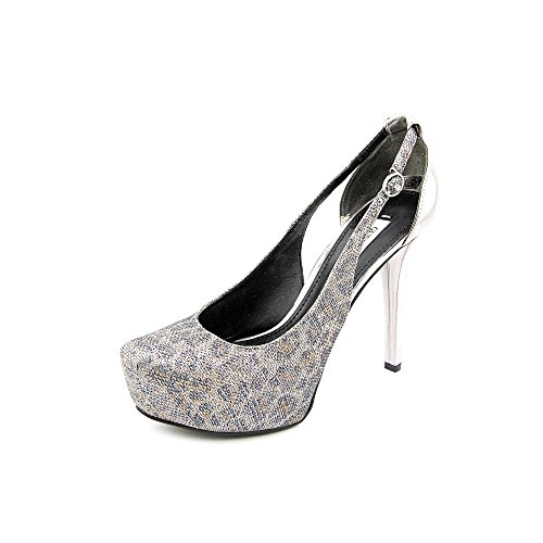 Guess Jacoba4 Donna US 9.5 Argento Tacchi