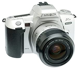 Minolta Maxxum STsi Panorama Date 35mm SLR Camera Kit with 35-80mm Lens