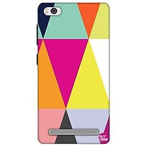 Designer Xiaomi Mi4i Case Cover Nutcase-Colorful Angles