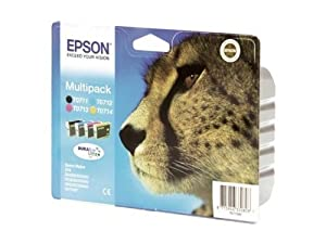 Epson Stylus SX 210 Series (T0715 / C 13 T 07154010) - original - Ink cartridge multi pack -
