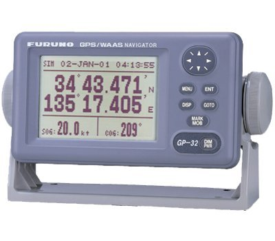 Furuno GP32 4.5-inch LCD WAAS/GPS Receiver with External Antenna