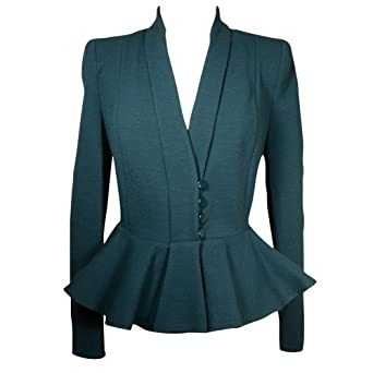 Armani Women's Peplum Stretch Jacket at Amazon Women's Clothing