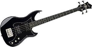 Hagstrom HB-4 Bass Guitar (4 String, Black Gloss) from US Music