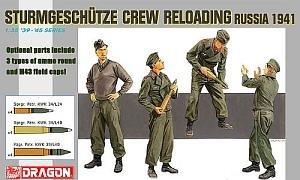 1/35 Sturmgeschutze Crew Reloa