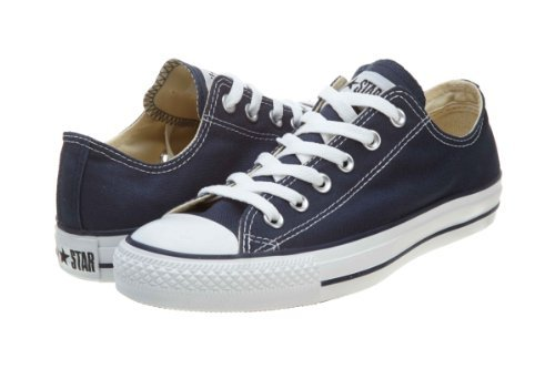 Best vegan shoes for Fall: Converse Chuck Taylor All Star Ox Navy
