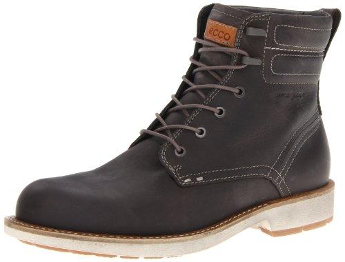 Ecco ECCO BENDIX Ankle Boots Mens Gray Grau (Warm Grey/ Nubukleder 02375) Size: 10 (44 EU)