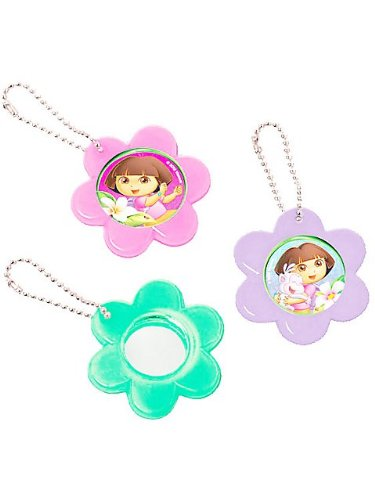 Dora's Flower Adventure Mirror Keychain (Set Of 12)