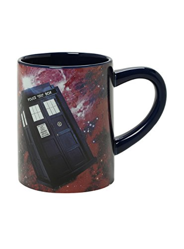 Doctor Who Hidden Tardis 12 Oz. Mug