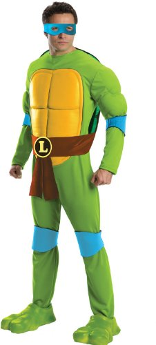 Men's Officially Licensed Leonardo TMNT Costume. Standard or X-large.