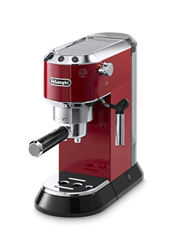 Review Of Delonghi EC680R DEDICA 15-Bar Pump Espresso Machine, Red