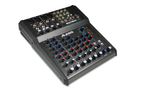 Alesis MultiMix 8 USB FX | 8-Channel Mixer with Effects & USB Audio Interface (Channel Mixer Usb compare prices)
