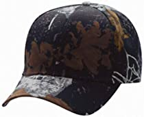 Outdoor Cap - Dominant DNA Camo Cap - GDC300 - Adjustable - Dominant DNA Black