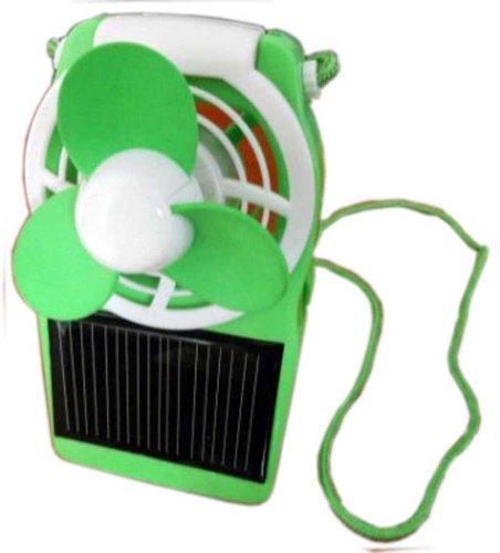 Green Solar Fan