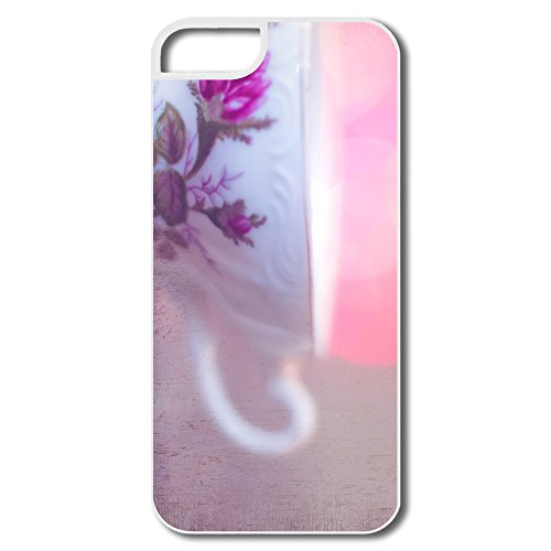 Custom Your Own Cup Tea Bokeh Geek Iphone 5 5S Shell For Gift