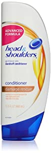 Head & Shoulders Damage Rescue Pyrithione Zinc Dandruff Conditioner 13.5-Ounce Bottle (packaging may vary)