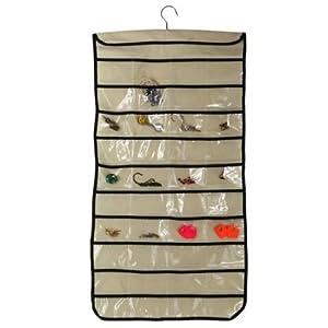 80 poche bijou presentoir organisateur suspendue sac rangement pochette stockage bagages. Black Bedroom Furniture Sets. Home Design Ideas