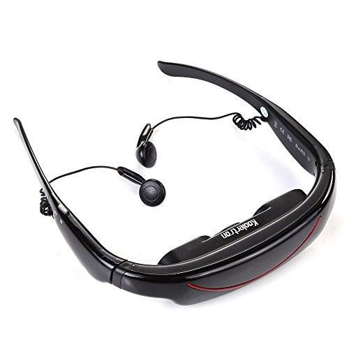 Koolertron 72-inch 16:9 Widescreen Multimedia Player Mobile Theatre Movies Video Glasses Virtual Theatre 4gb