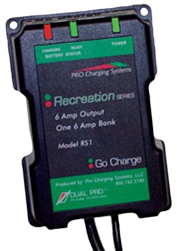 Dual Pro Recreational Series Battery Charger: RS1, 12v