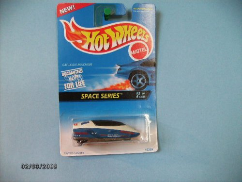 Hot Wheels Gm Lean Machine 1996 Space Series #2 Logo on Rear - 1