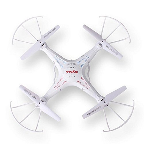 Foxnovo 4pcs Durable Propeller Prop Protective Guards Blades Frame Protectors Bumpers for Syma X5 X5C RC Quadcopter (White)