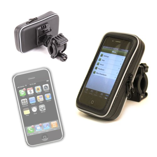 DURAGADGET Waterproof Cycle/Bike Mount Hard Case For Apple iPod Touch (8gb, 16gb, 32gb)