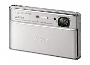 Sony Cyber-Shot DSC-TX100V 16.2 MP Exmor R CMOS Digital Still Camera with 3.5-inch OLED Touchscreen, 3D Sweep Panorama, and Full HD 1080/60p Video (Silver)