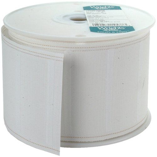 Cheap Wrights 10030 Regular White Pleater Tape, 30-Yard