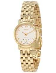 Roamer of Switzerland Women's 931855 48 15 90 Odeon 24mm Gold PVD Silver Dial Watch