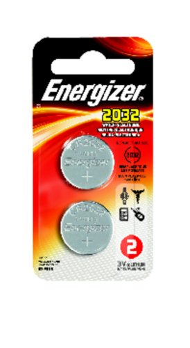 Energizer Lithium Coin Watch/Electronic Battery 2032, 2-Count front-579524