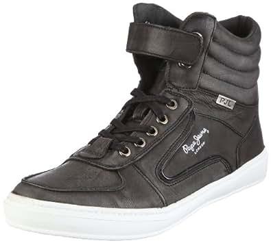 Pepe Jeans London Helmet HT-240 A, Chaussures de basketball homme - Gris-TR-DV, 40 EU