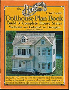 Dollhouse PLAN BOOK: 3-IN-1 DOLLHOUSE PLANS