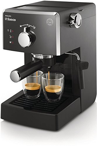 Saeco HD8423/11 Poemia Macchina Espresso Manuale, Nero