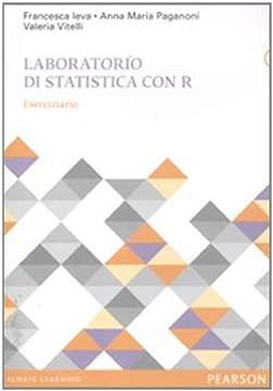 Cover Laboratorio di statistica con R. Eserciziario
