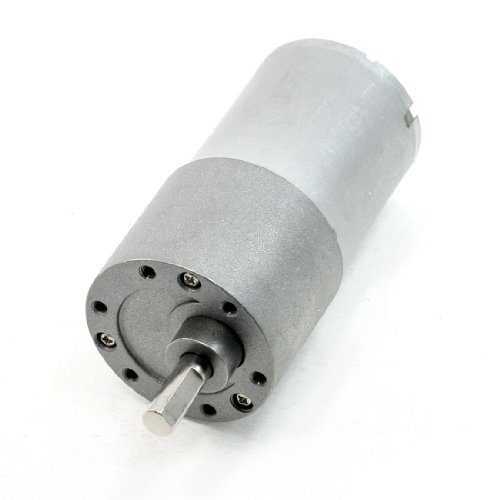 Dc 24V Volt 10Rpm Rotated Speed Gearbox Cylinderical Electric Geared Motor