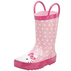 Western Chief Hello Kitty Dotted Cutie Rain Boot