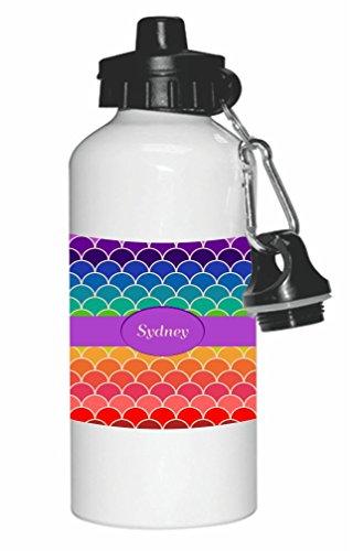 rikki-knight-sydney-name-on-rainbow-scallop-design-20oz-sports-water-bottle-sport-bottle-flip-top-wi