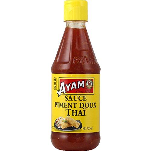 Ayam - Sauce piment doux Thaï - La bouteille de 435ML - (pour la quantité plus que 1 nous vous remboursons le port supplémentaire)