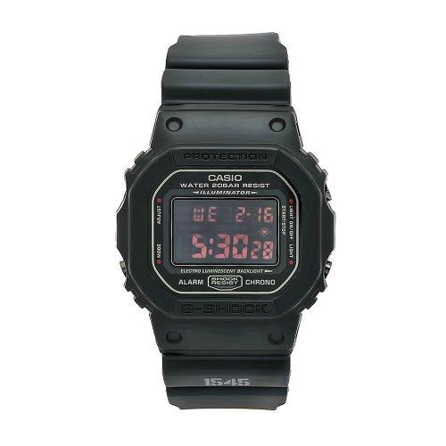 [カシオ]CASIO G-SHOCK Gショック 腕時計 マットブラック レッドアイ DW5600MS-1[逆輸入]