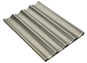 Focus Foodservice Commercial Bakeware Baguette/French Bread Pan