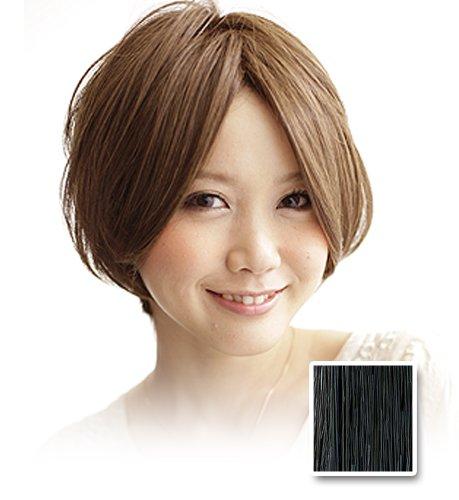 THREE ION MINX カジュアルライトボブ 001 Black