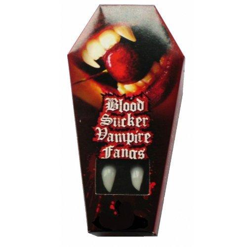 Zoelibat Blood Sucker Vampire Fangs in Coffin Packaging