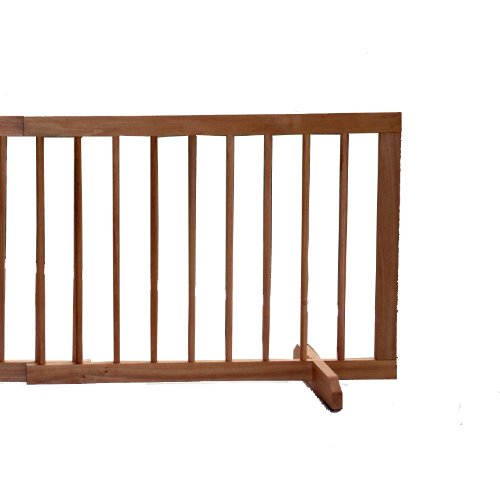 Cardinal Gates Step Over Gate Extension, Oak front-929139