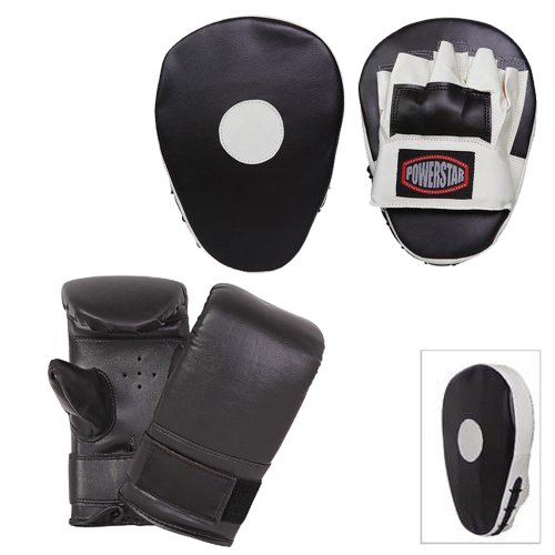 Focus Pads and Gloves set Mma Training Set Boxing