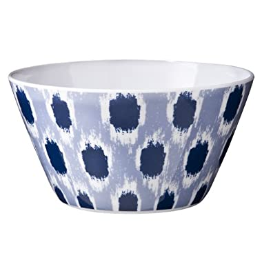 Product Image Blue & White Ikat Bowl Set of 4 - 6""